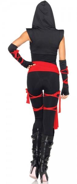 Sexet ninja fighter kvinders kostume