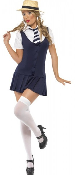 Fine school girl uniform costume