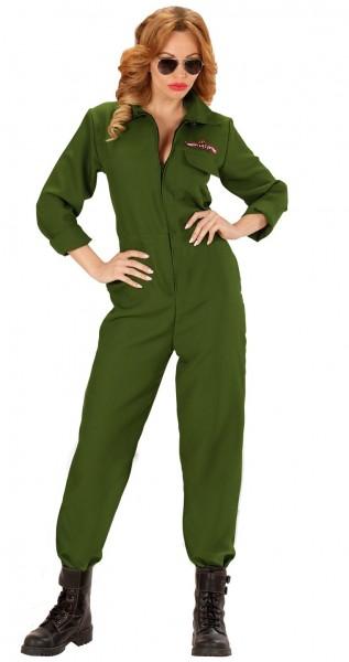 Kampf-Flieger Pilotin Damenkostüm