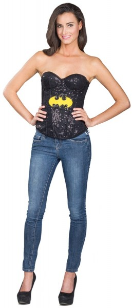Black Batgirl ladies corsage