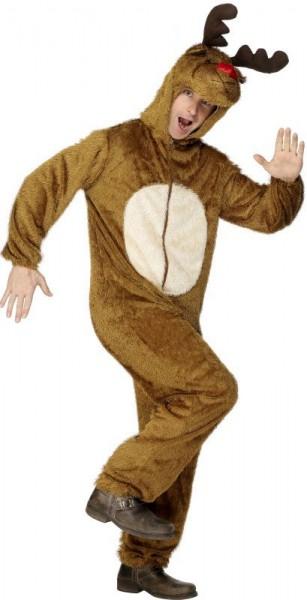 Disfraz de mono Rudolf reno