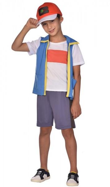 Pokemon Ash kostume til børn