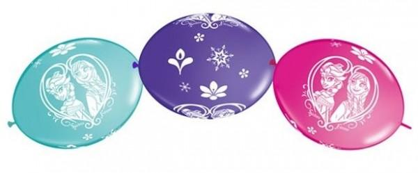 10 Frozen Ahtohallan Girlandenballons 30cm