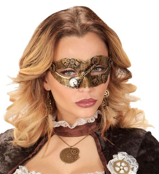Masque à crémaillère de dame chic