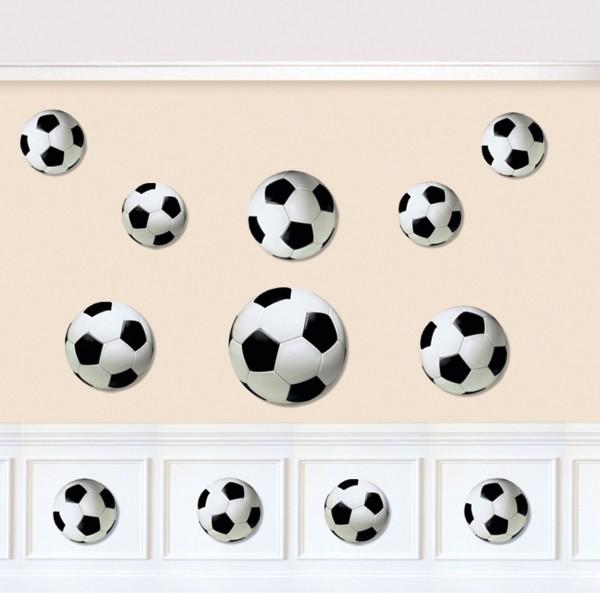 12 Fußball Wanddeko Bilder