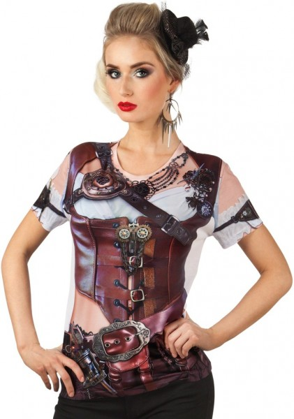 Steampunk Piratenbraut Shirt