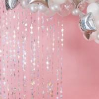 Starful Birthday Vorhang 2,2 x 1,2m
