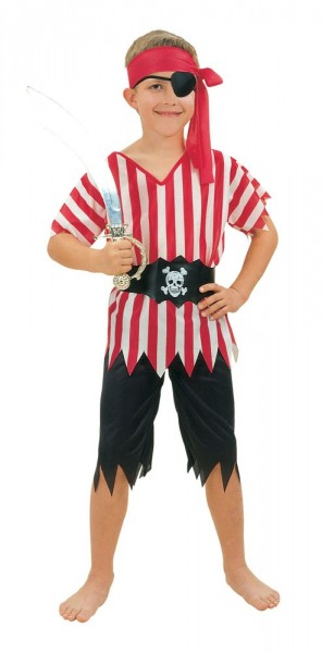 Pirate Paul children's costume