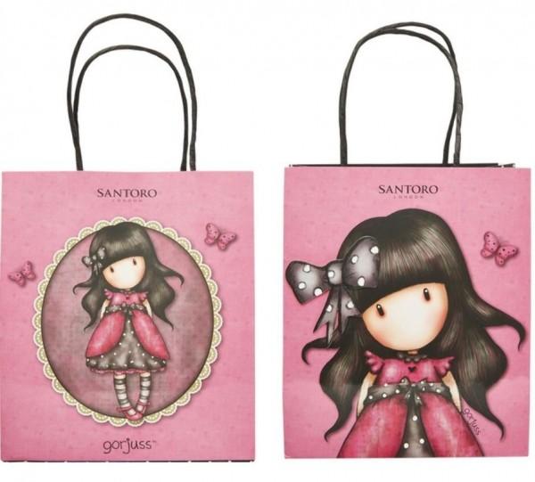 4 Santoro Gorjuss Ladybird Geschenktüten