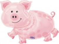 Folienballon Piggy