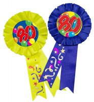 Spectacular 80th Birthday Button