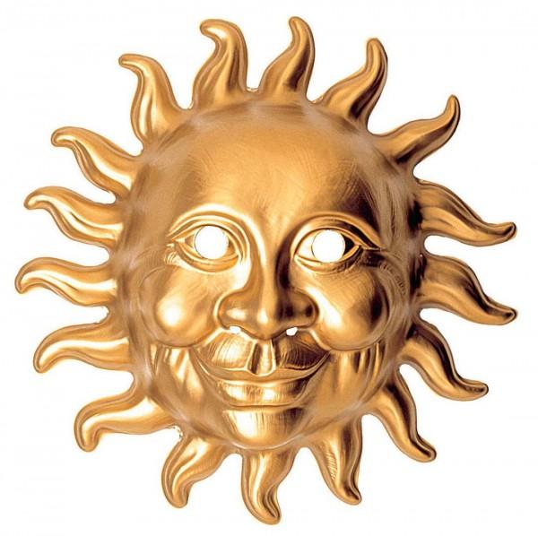 Sun gold mask