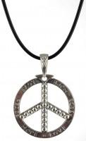 Peace Zeichen Halskette