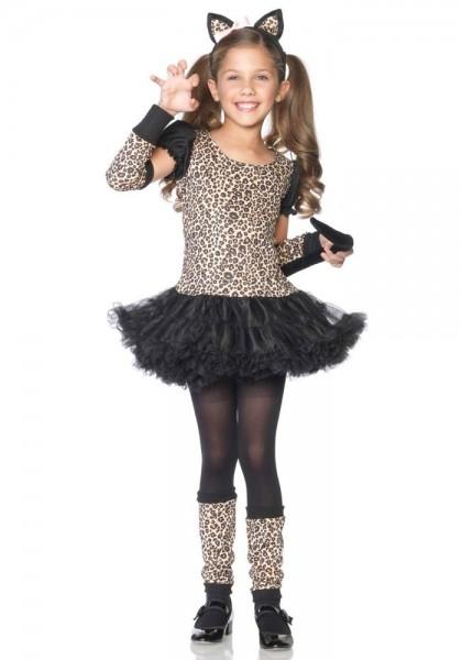 Leoparden Wildkatzenkleid Für Mädchen
