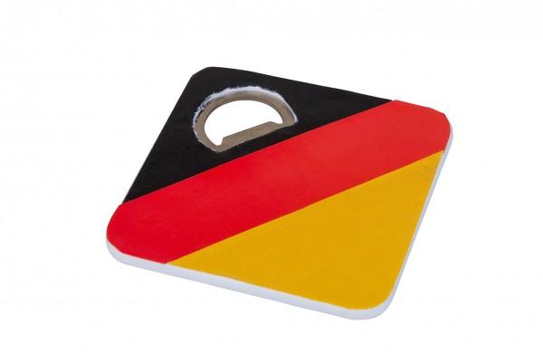 Deutschland Untersetzer mit Flaschenöffner 3