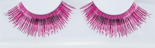 Lametta Wimpern Pink