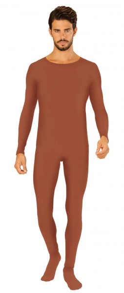Body costume homme marron