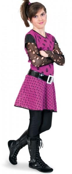 Paulina punk kinderkostuum