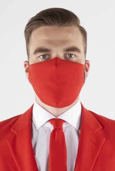 OppoSuits Red Devil Mund Nasen Maske