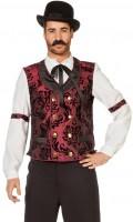 Western Gentleman Kostüm In Edlem Samtrot