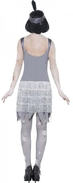 Chaleston Lady Zombie Kostüm Grau