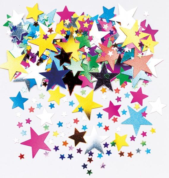 Décor à saupoudrer étoile de conte de fées coloré 14g