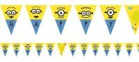 16 Hooray Minions Wimpelkette 3,3m