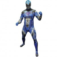 Blauer Power Ranger Morphsuit Deluxe