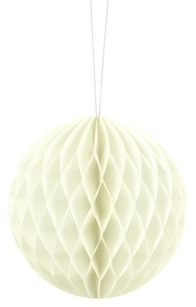 Honeycomb ball Lumina cream 10cm