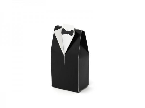 10 coffrets cadeaux de marié 5 x 9,5 cm