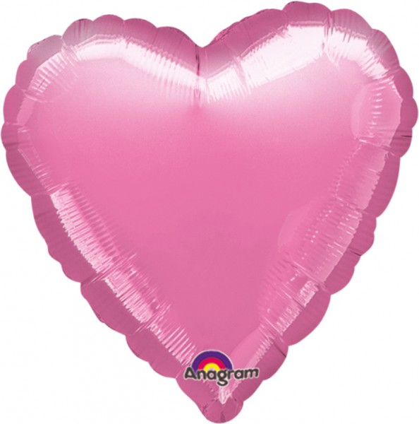 Heart balloon Fairytale pink 43cm