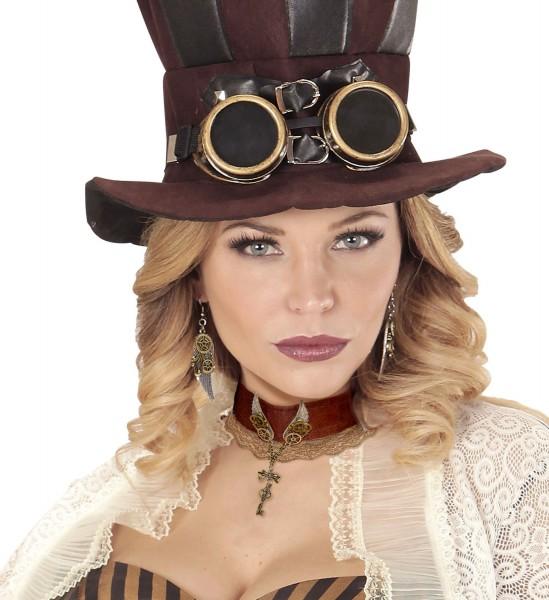 Steampunk Halskette Gwendolyn