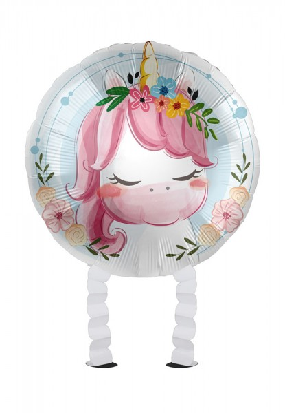 Balon foliowy Unicorn Airwalker 43cm