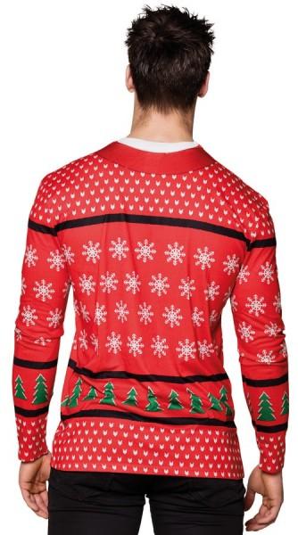 Camisa de felicitación navideña pésima para hombre