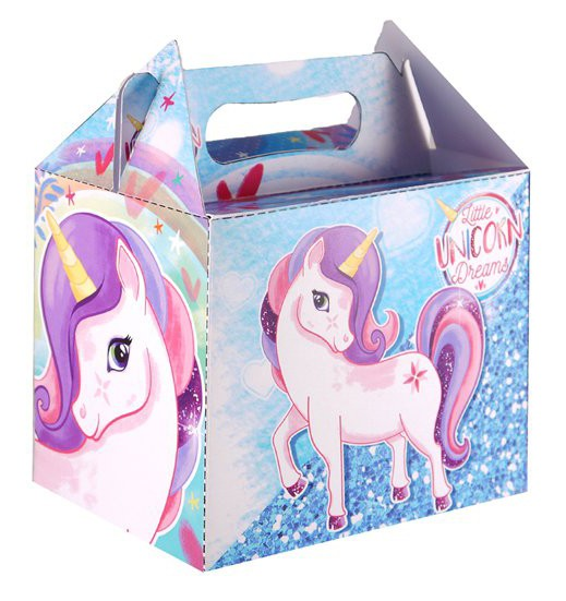 Caja regalo unicornio 14cm