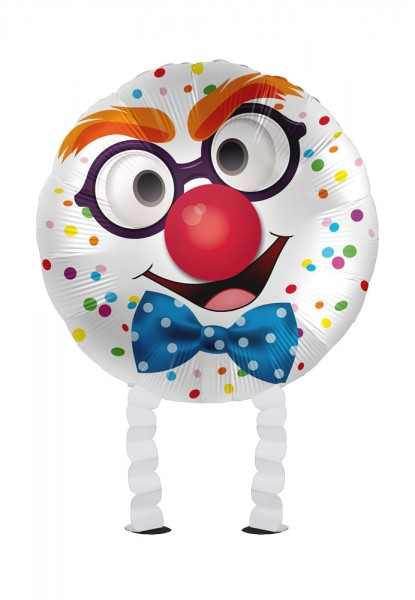 Happy Clown Airwalker Folienballon 43cm