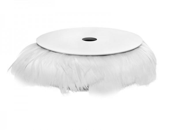 Guirlande de plumes blanches romantique 10m