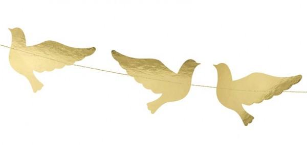 Niebo Błogosławiona girlanda gołębi 86cm