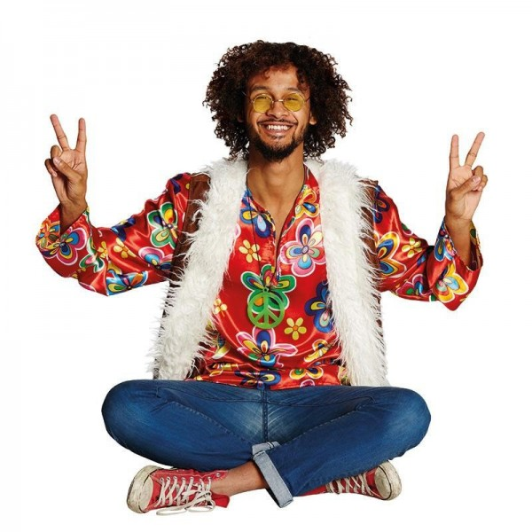 Plüsch Hippie Kostüm Elias
