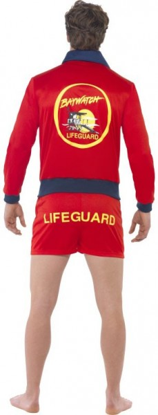 Red lifeguard men's costume