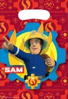 8 Feuwehrmann Sam SOS Geschenktüten