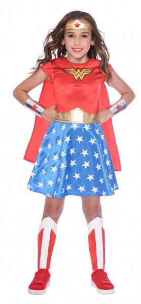 Déguisement de licence Wonder Woman fille