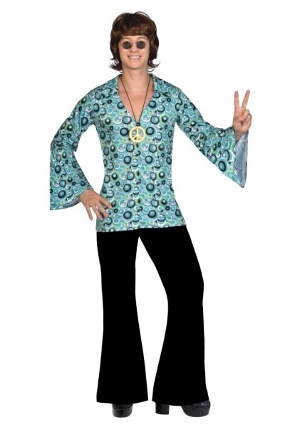 Hippie Disco Dancer Shirt Men's