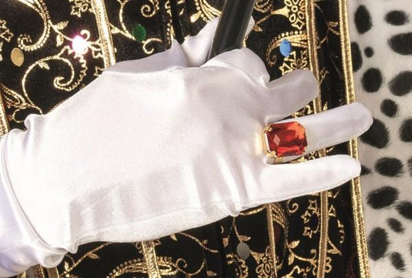 Fake Rubin Schmuckstein Ring