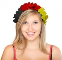 Deutschland Fan Blütenhaarreif