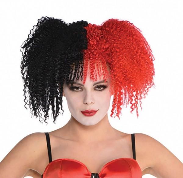 Red Harlekin Damenperücke