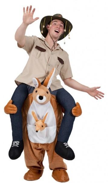 Kängeru Ranger-piggyback-kostuum