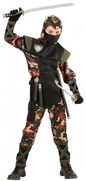 Camouflage Ninja Kinderkostüm
