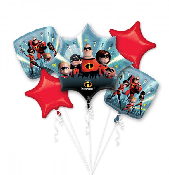 Folienballon-Set - Die Unglaublichen 2