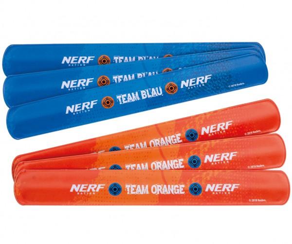 6 Nerf Battle Zone Klackarmbänder